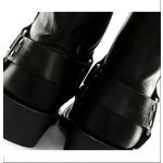 Calf Length Harness Boots