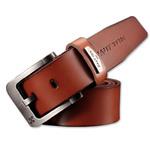 Men's Casual Tan Leather Belt