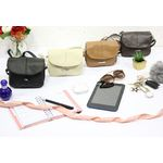 Lorenz Black Handbag With Adjustable Strap