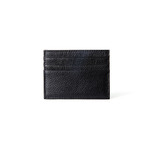 Hautton Black Thin 6 Credit Card Holder