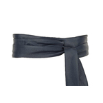 Ladies Navy Wrap Belt