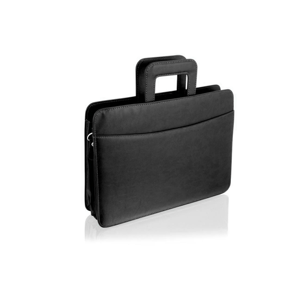 Square br101 folio organisers bag mens black 2