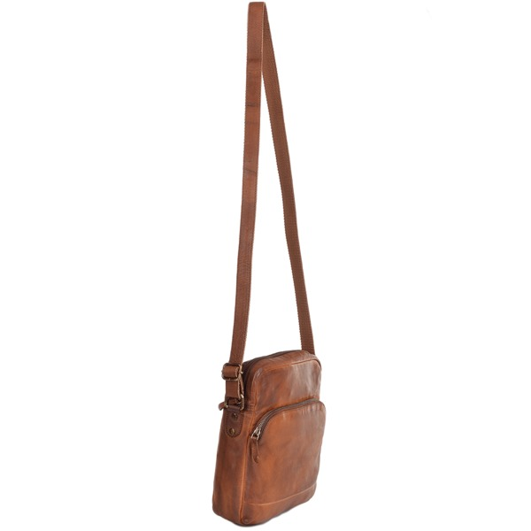 Square ashwood medium vintage leather travel bag rust 1333 p1226 5268 image