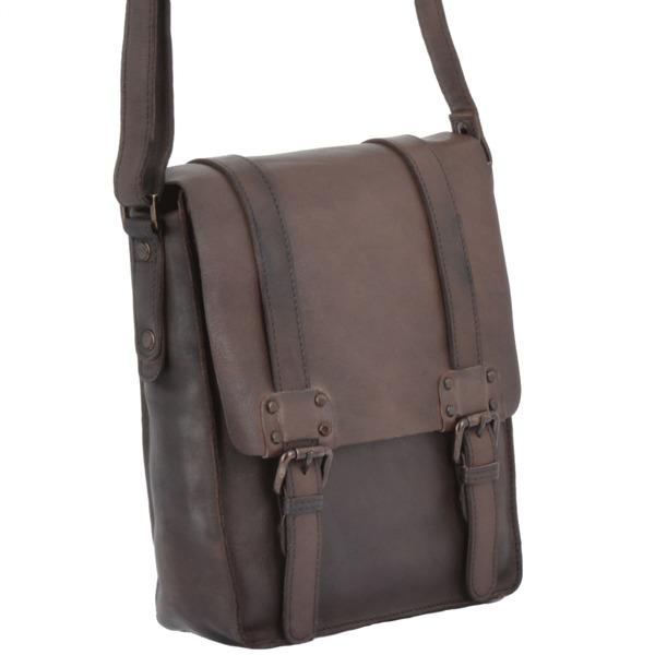 Square ashwood vintage a4 messenger bag brown 7995 p1343 5939 image  1