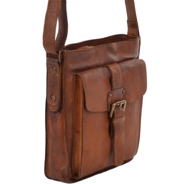 Square ashwood mens small vintage leather travel bag rust 7993 p675 2764 image