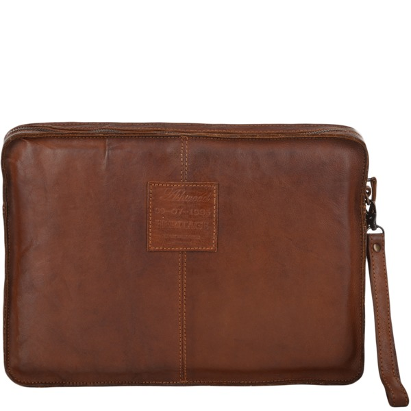 Square ashwood mens vintage laptop sleeve rust 7992 p674 2759 image
