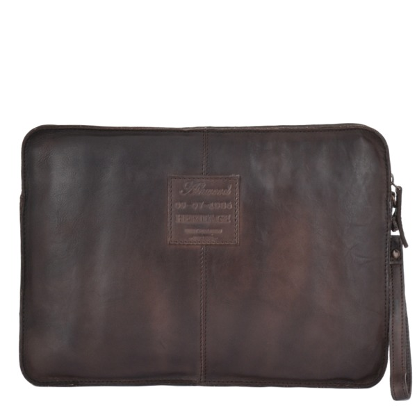 Square ashwood vintage laptop sleeve brown 7992 p1340 5978 image