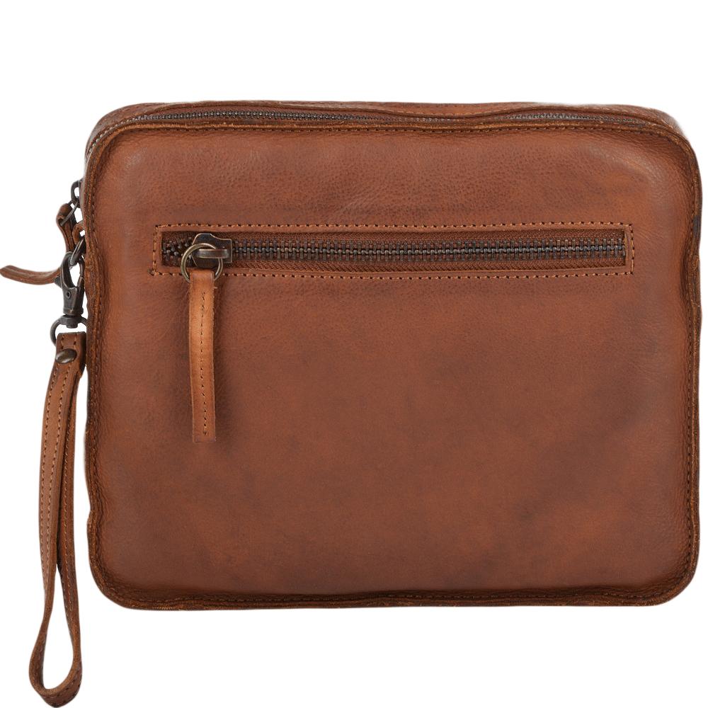... Ashwood Cognac Vintage Wash Small Leather Tablet Sleeve 28627bec3ebc9