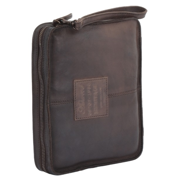Square ashwood vintage wash small leather tablet sleeve brown 7991 p1339 5972 image