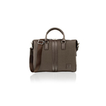 "Woodland Leather 14.0"" Brown Tote Bag"
