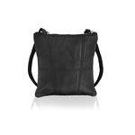 Woodland Leather Black Small Cross Body Bag