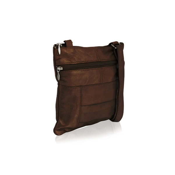 Square br1946 ladies crossbody bag brown 01 5