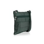 Woodland Leather Forest Green Small Cross Body Bag