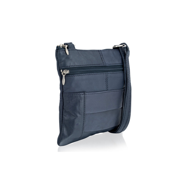 Square br1946 ladies crossbody bag navy 1 5