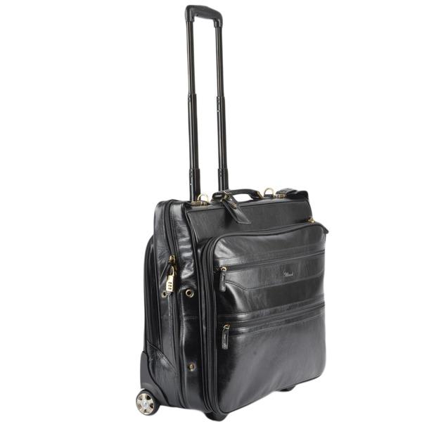 Square ashwood luggage wheeled suit carrier black vt 63421 p108 2612 image