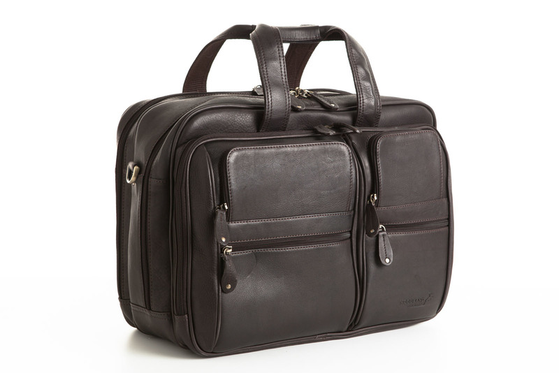 Satchel Briefcase   Brown