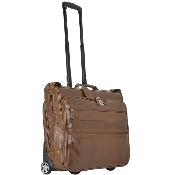 Square ashwood wheeled suit carrier chestnut 63421 p1336 5907 image