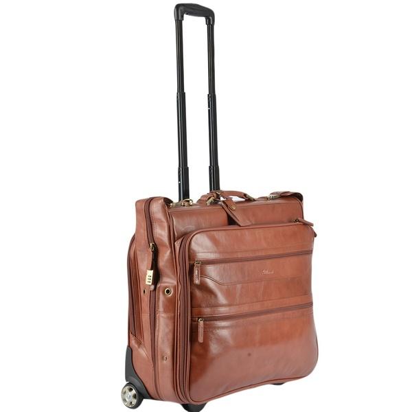Square ashwood wheeled suit carrier cognac vt 63421 p109 482 image