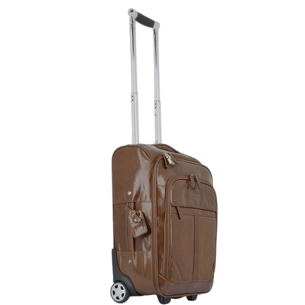 Square ashwood vegetable tanned leather luggage cabin trolley chestnut 89150 p1347 5913 image   copy