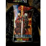 AC/DC 'Iron-Man' Hand-Painted Leather Jacket