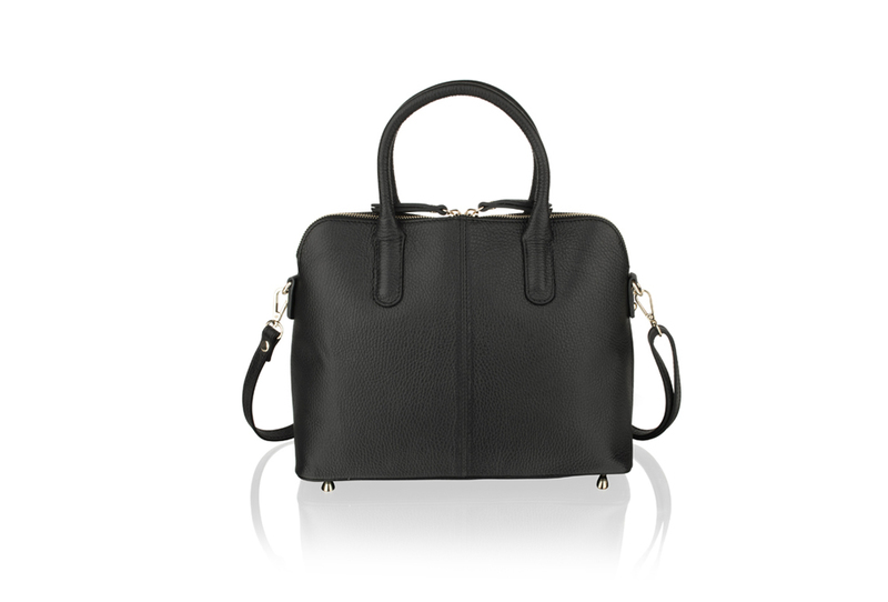 Woodland Black Tote Bag