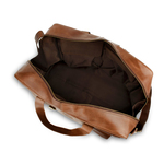 Woodland Leather Brown Large Travel Holdall