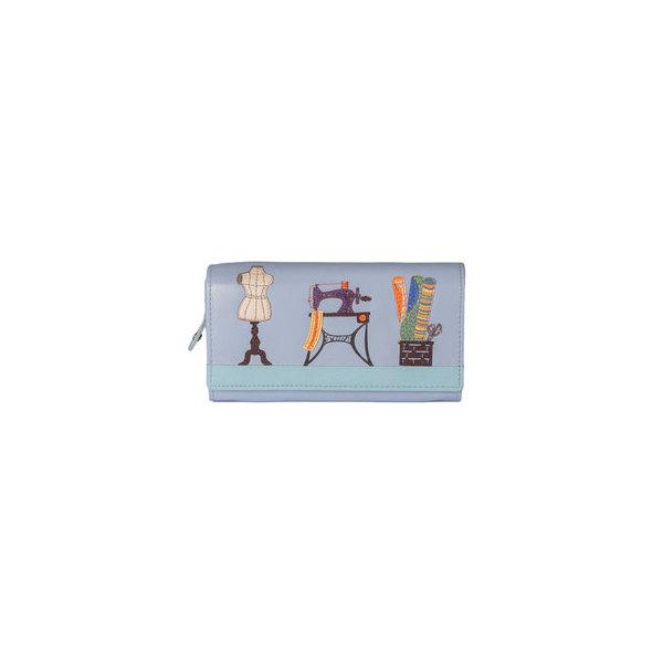 Square mala sewing room purse
