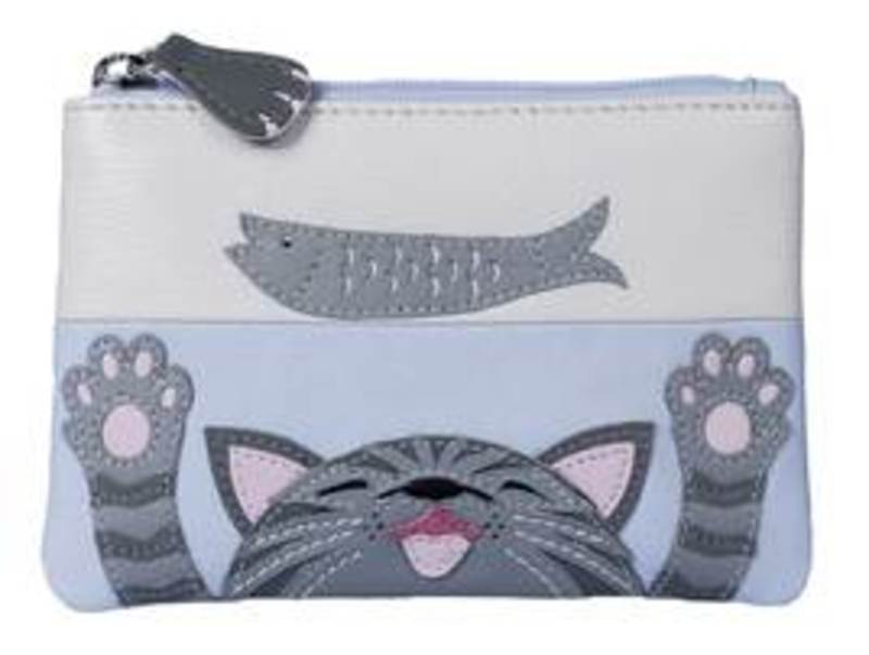 Mala Cat and Fish Coin Purse
