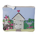 Mala Beau's Garden Shed Coin Purse with RFID