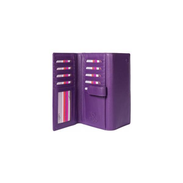 Square mala purple origin purse