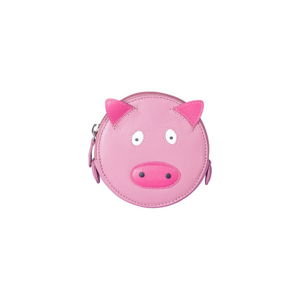 Square pig round coin purse   copy