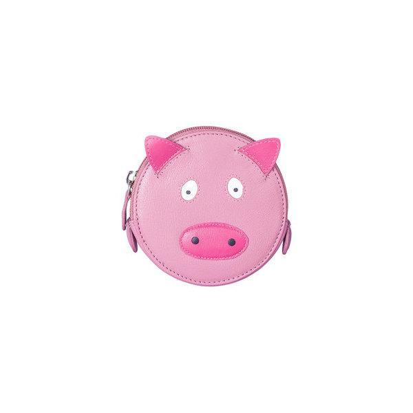 Square pig round coin purse   copy