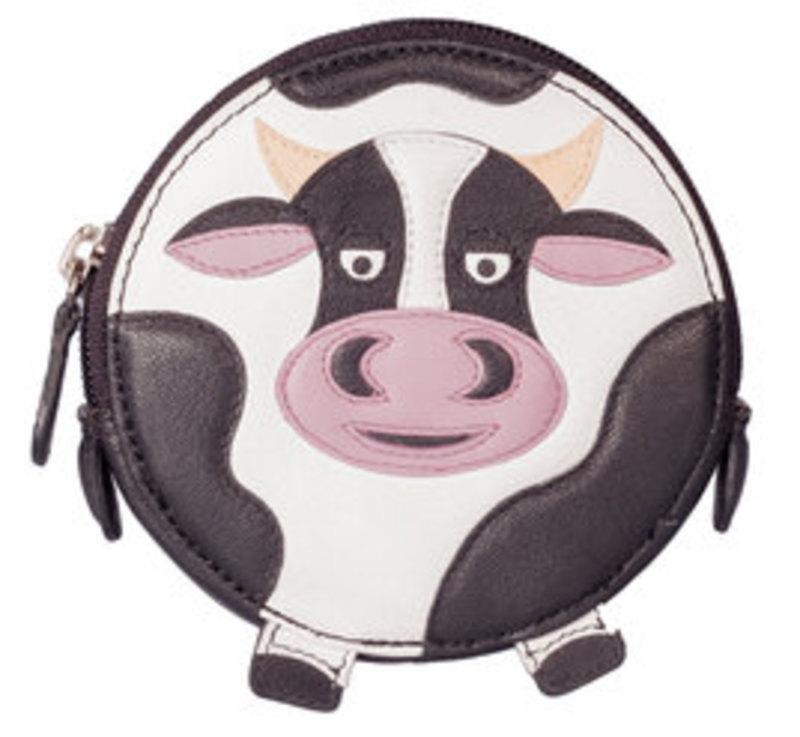 Mala Cow Round Coin Purse