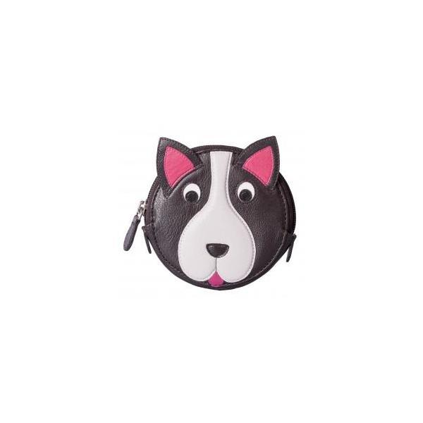 Square dog round coin purse   copy