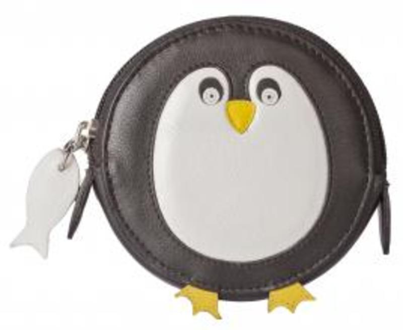 Mala Penguin Round Coin Purse