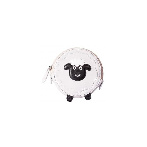 Square round sheep purse
