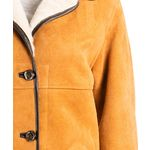 Ladies 3/4 Traditional Shearling Sheepskin Coat