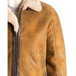 Men's Antique Aviator Belted Sheepskin Shearling Jacket