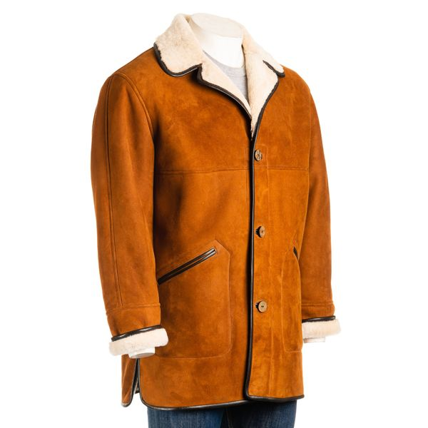 Square mens traditional sheepskin 3
