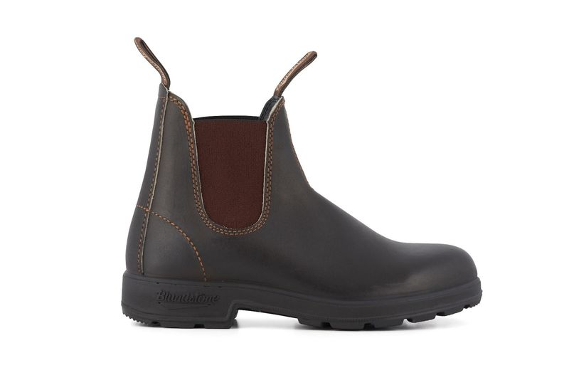 Blundstone Leather Chelsea Boots in Stout Brown