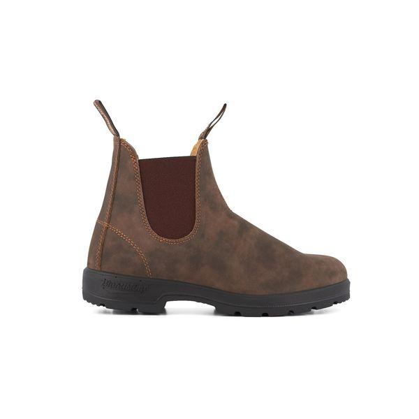 Square blundstone 585 050 classic comfort boot  rustic brown 1
