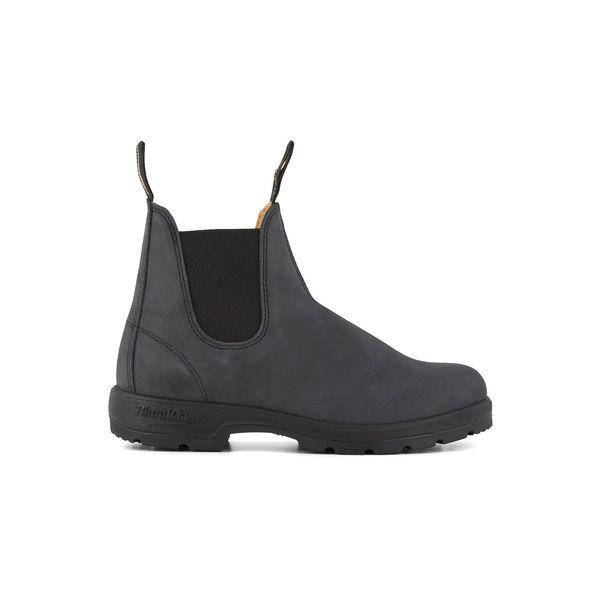 Square blundstone 587 050 classic comfort boot  black 1