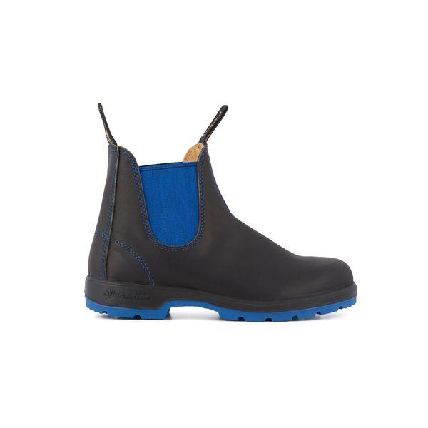 Square blundstone 1403 050 boots black blue leather black 1