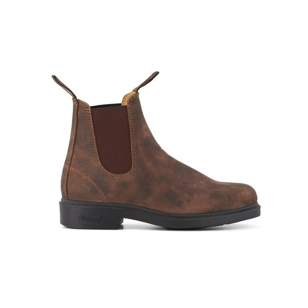 Square blundstone 1306 050 chisel toe boot rustic brown 1