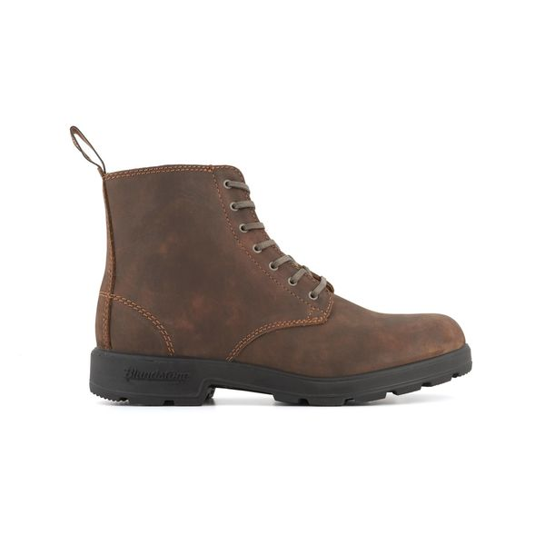 Square blundstone 1450 050 lace up nubuck boot nubuck brown 1