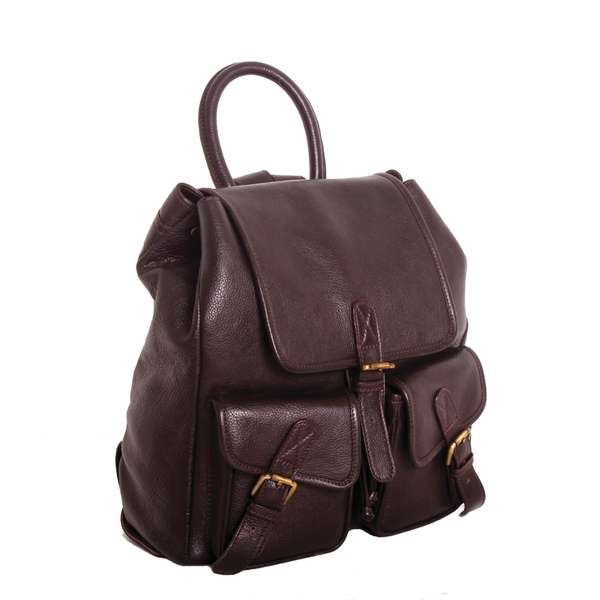 Square rucksack   brown copy