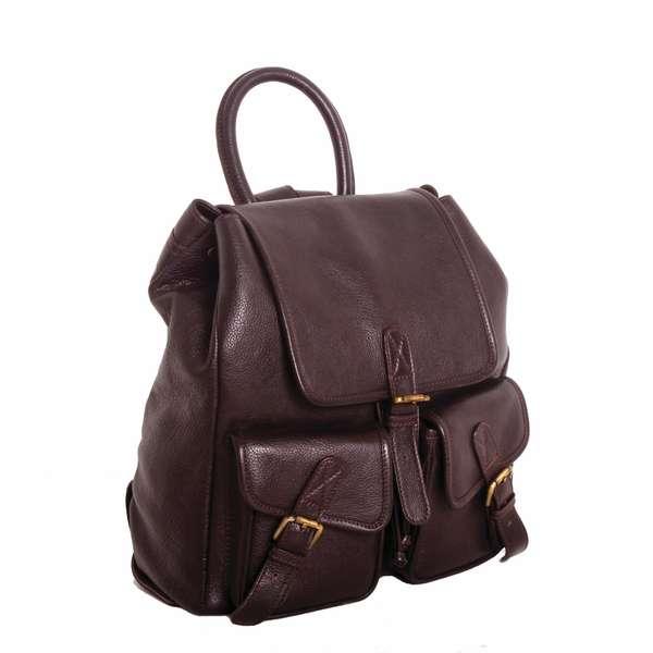 Square rucksack   brown copy