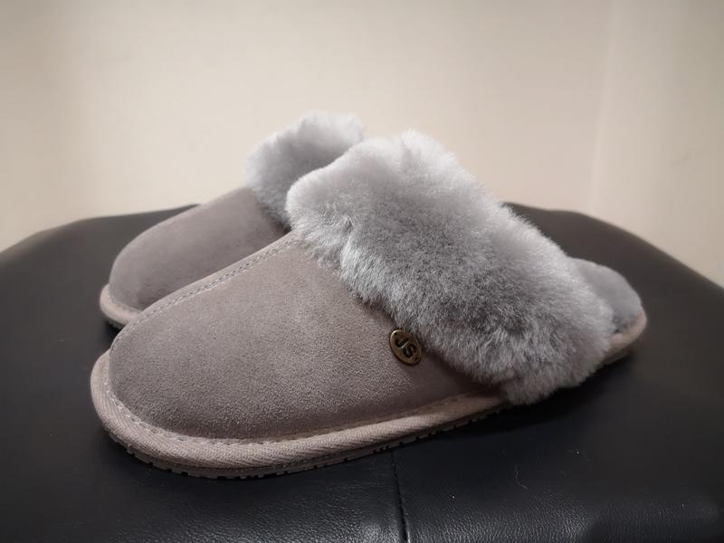 Ladies Mink Just Sheepskin Slippers