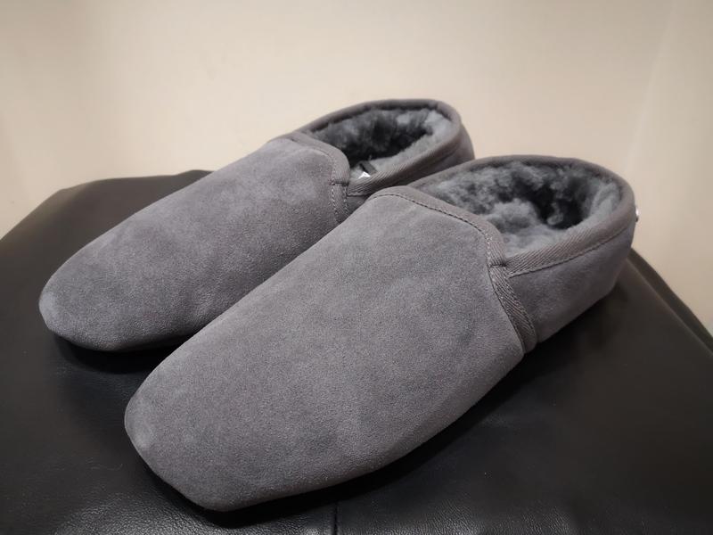 Men's Granite Just Sheepskin Slippers