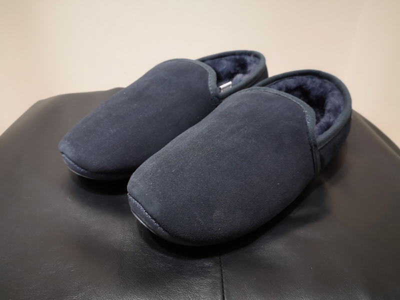 Men's Midnight Blue Just Sheepskin Slippers